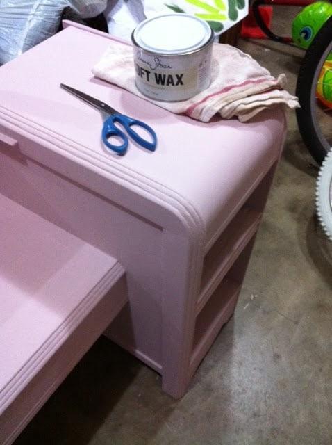 Annie Sloan Chalk Paint Saved By Scottie