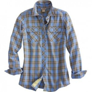 crosscut flannel lt blue