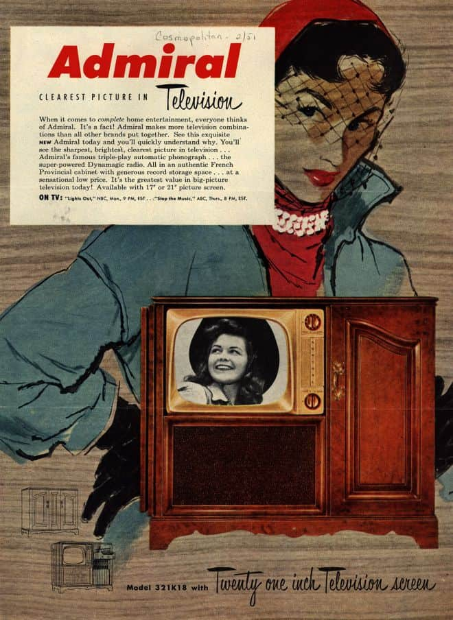 Admiral tv cabinet ad