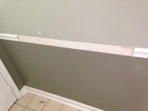 sxs foyer wall molding gone