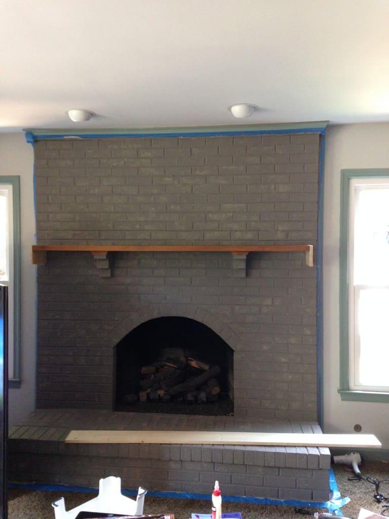 fireplace tiny shelf sxs