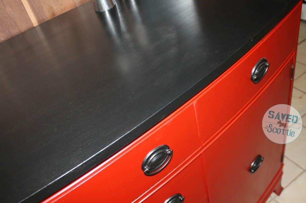 red buffet top shimmer sxs