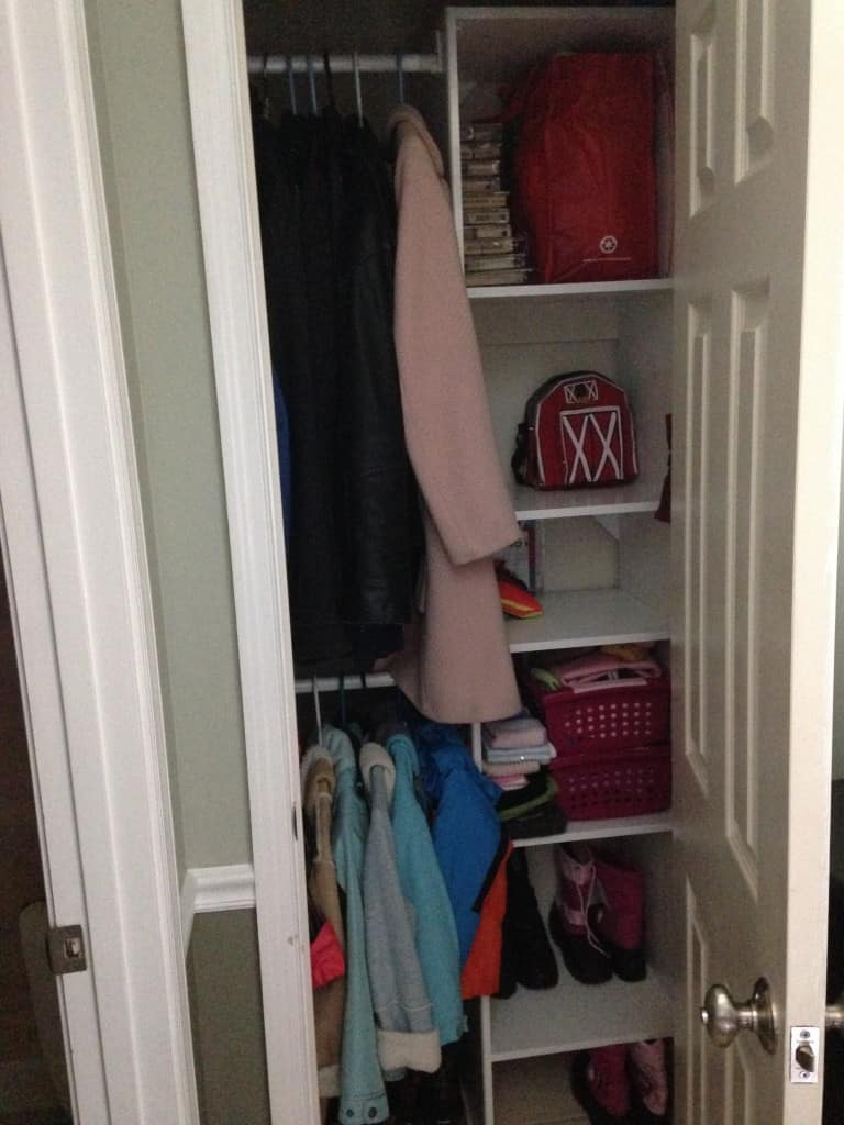 entry closet after sxs