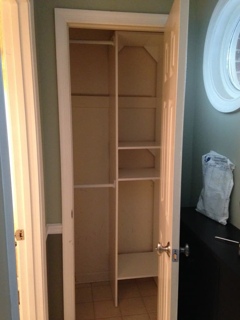 entry closet installed sxs