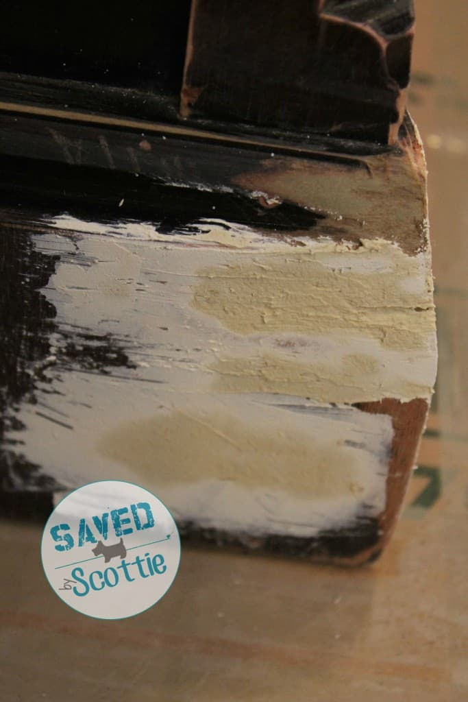 SxS Shabby Paints texture drying