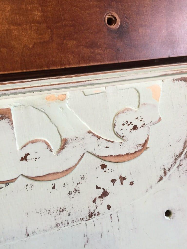 Mojito dresser stain texture