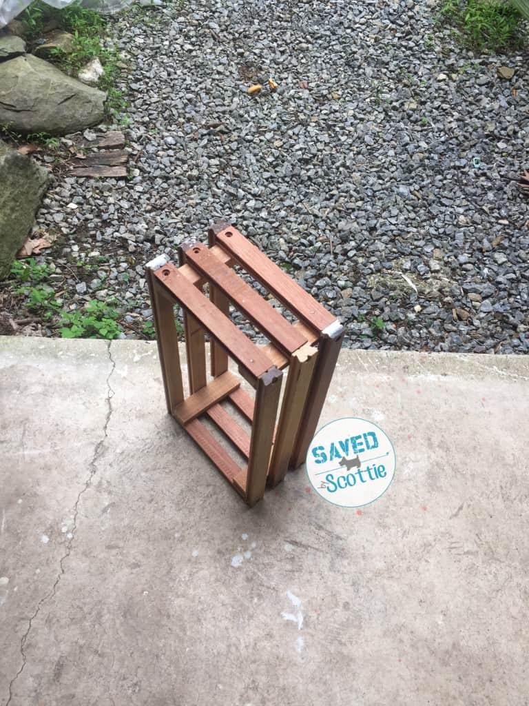 SxS drawer slide crate