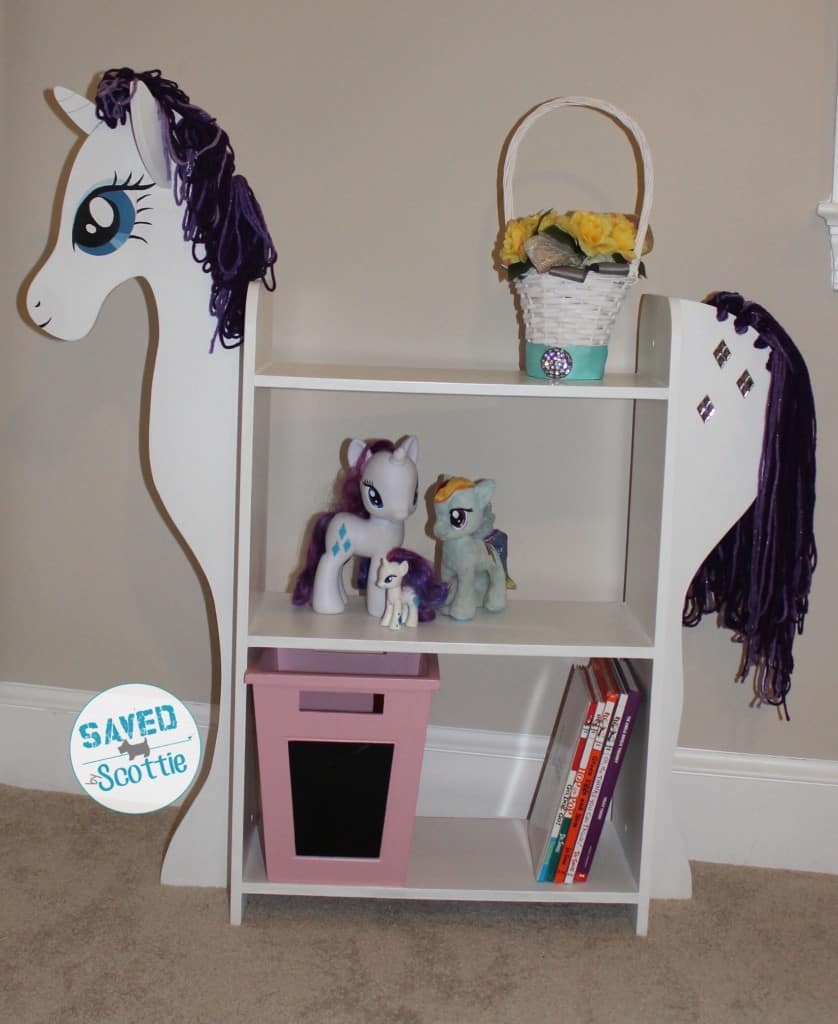 sxs pony bookcase