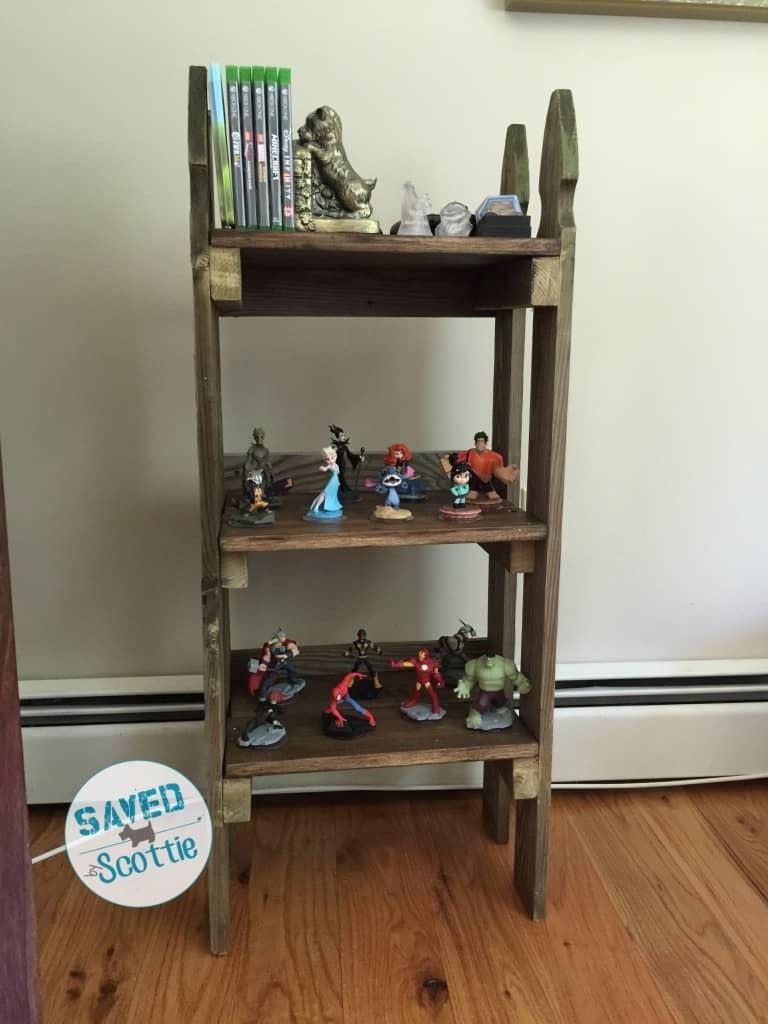 sxs finished shelf front