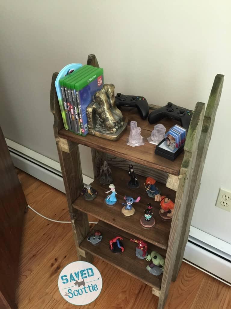 sxs finsihed shelf