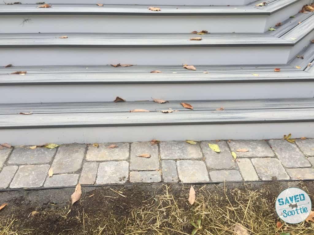 stone work deck