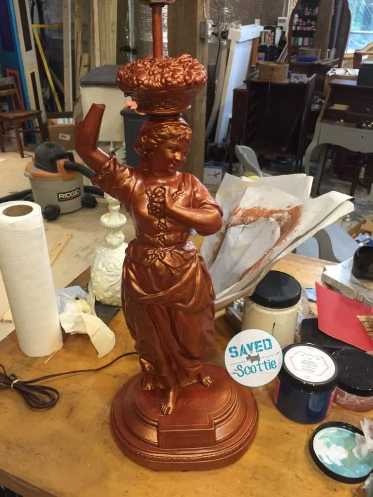 sxs copper lamp step 2