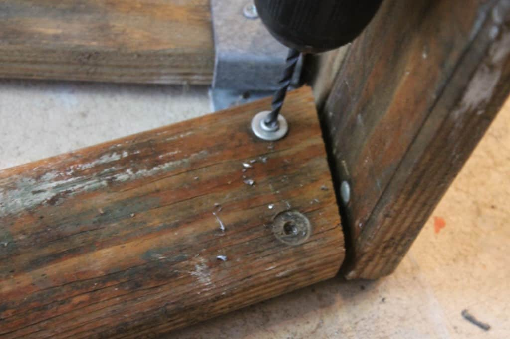 SxS Ryobi drill out rivets