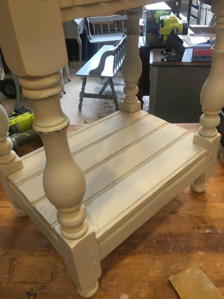 side table shelf