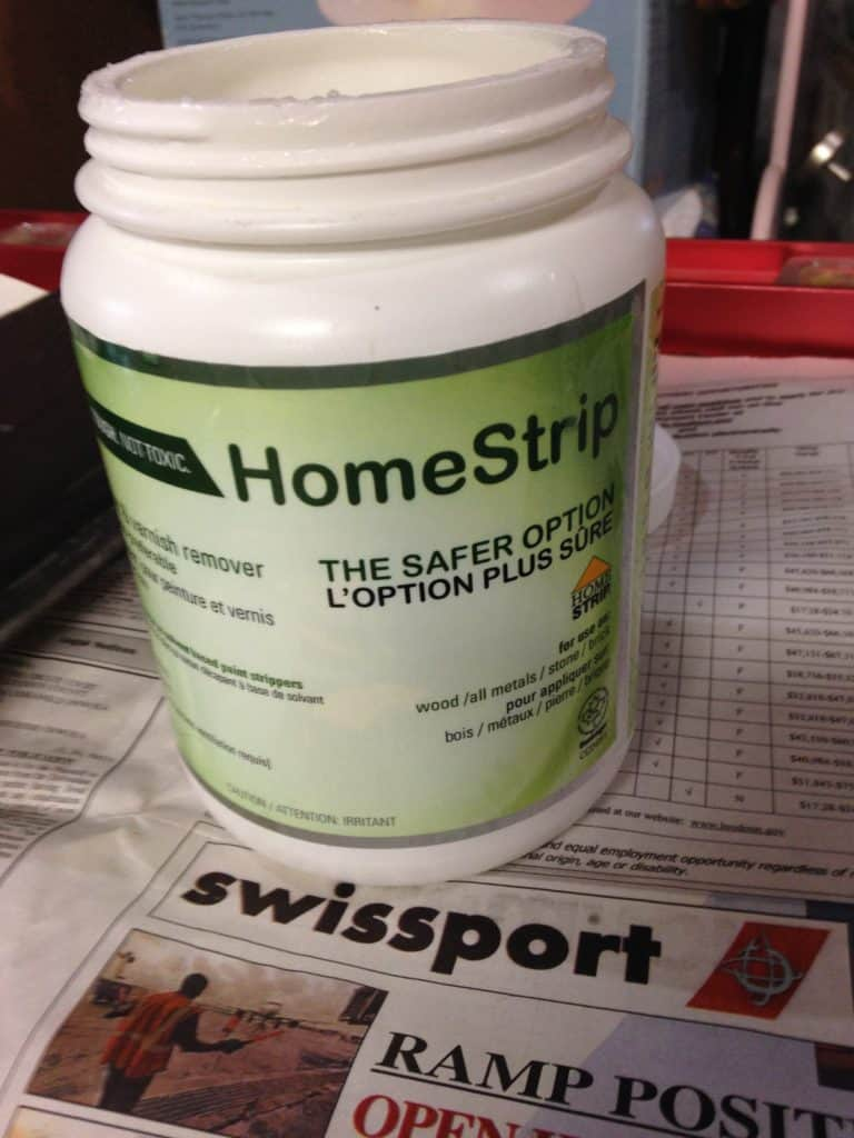 sxs HomeStrip safer paint stripper container