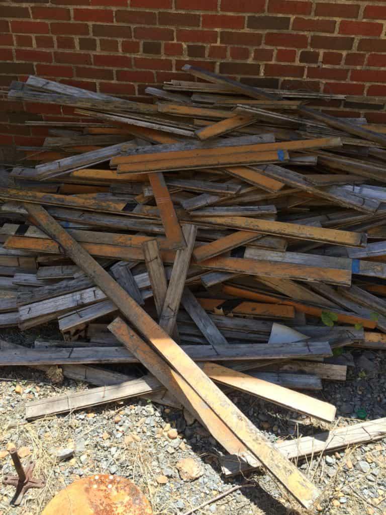 SxS maple pile