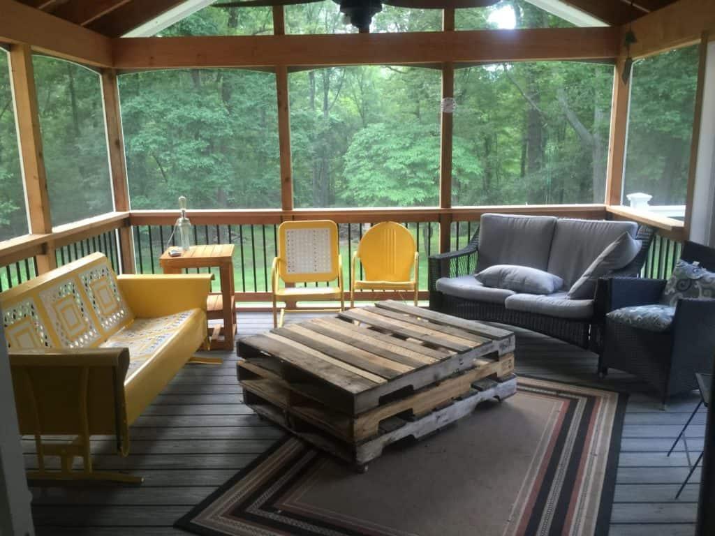 SxS porch makeover before