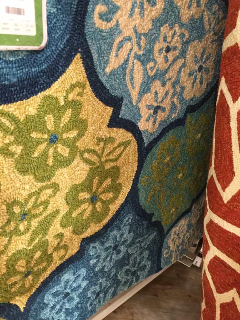 SxS porch makeover rug