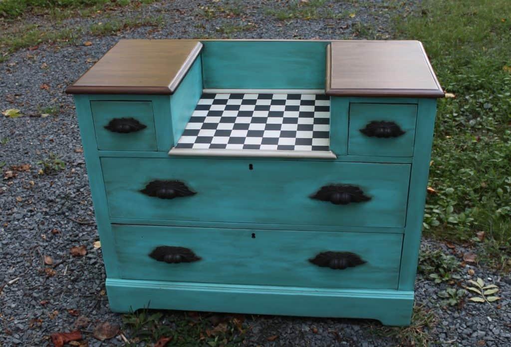 SXS checker dresser after