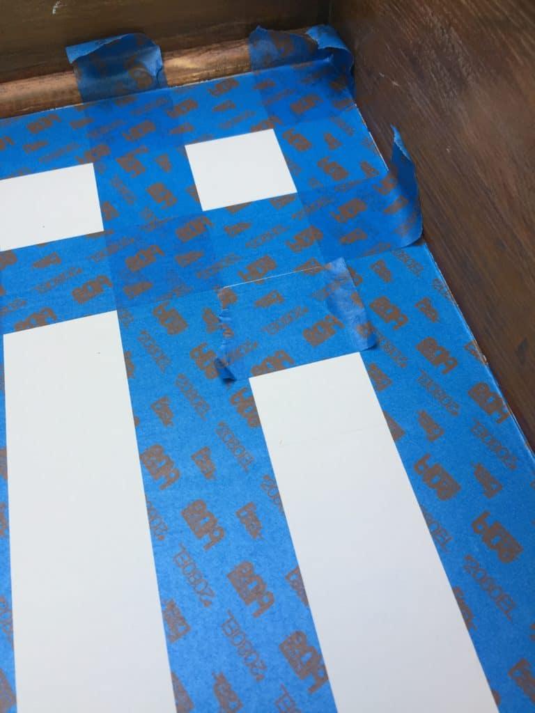 SXS checker dresser tape out horizontal