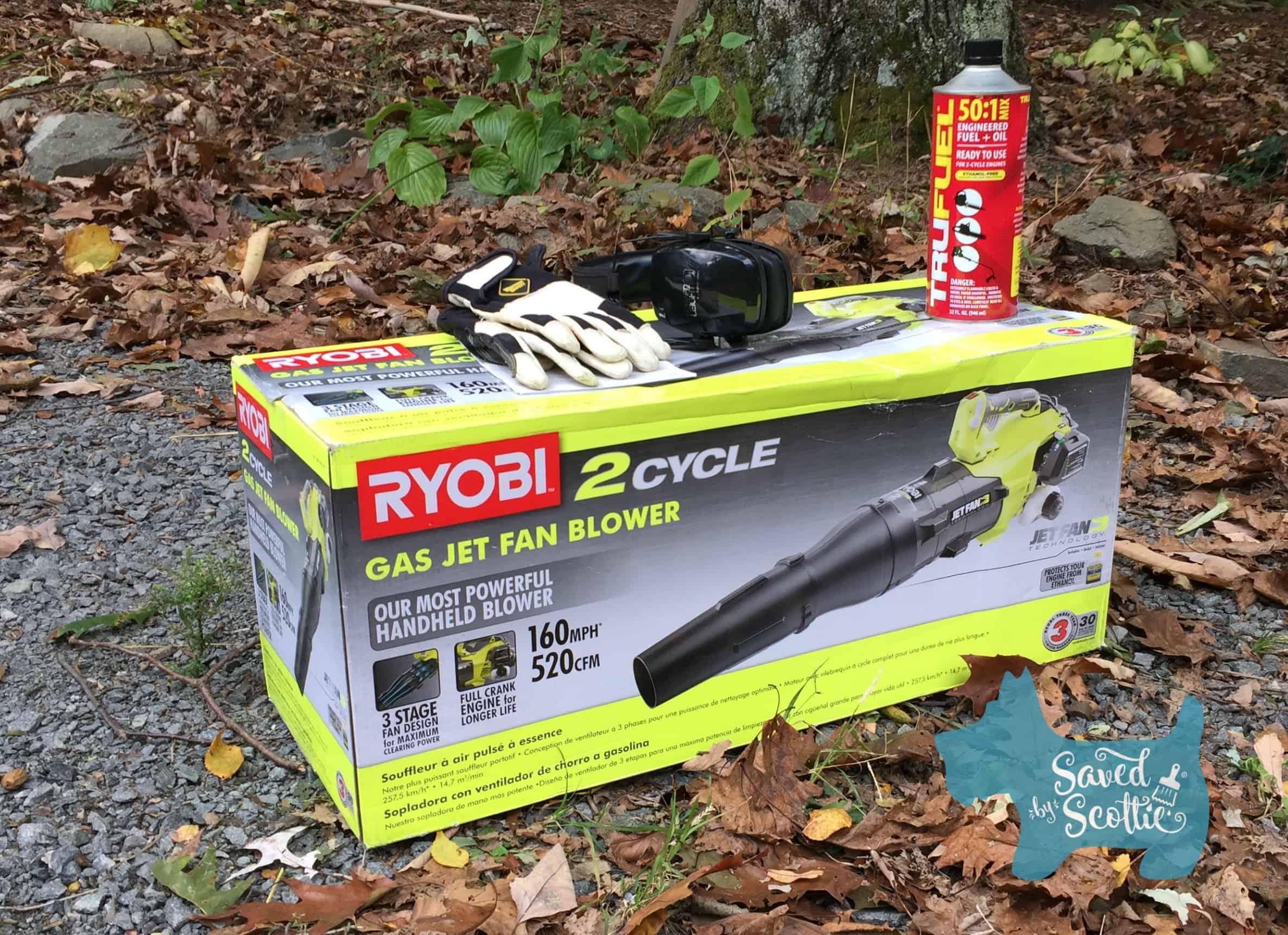 Most Powerful Bathroom Fan : Ryobi cycle gas jet fan blower review saved by scottie