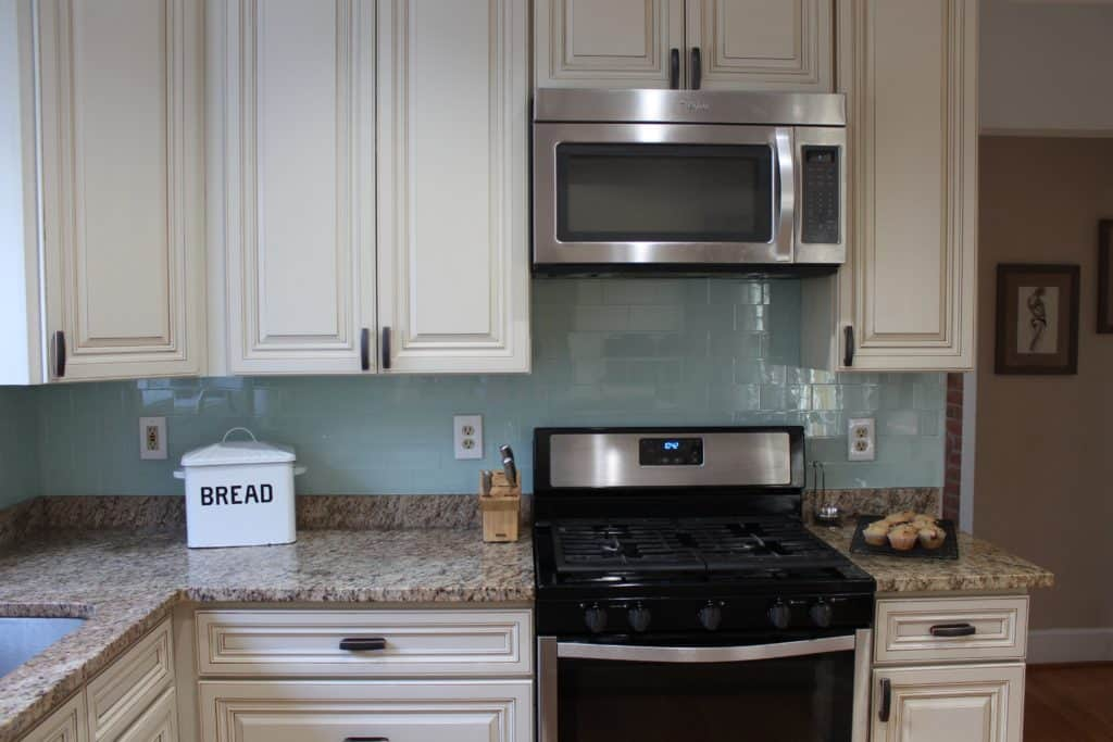 My quick kitchen update saved by scottie for Low cost kitchens