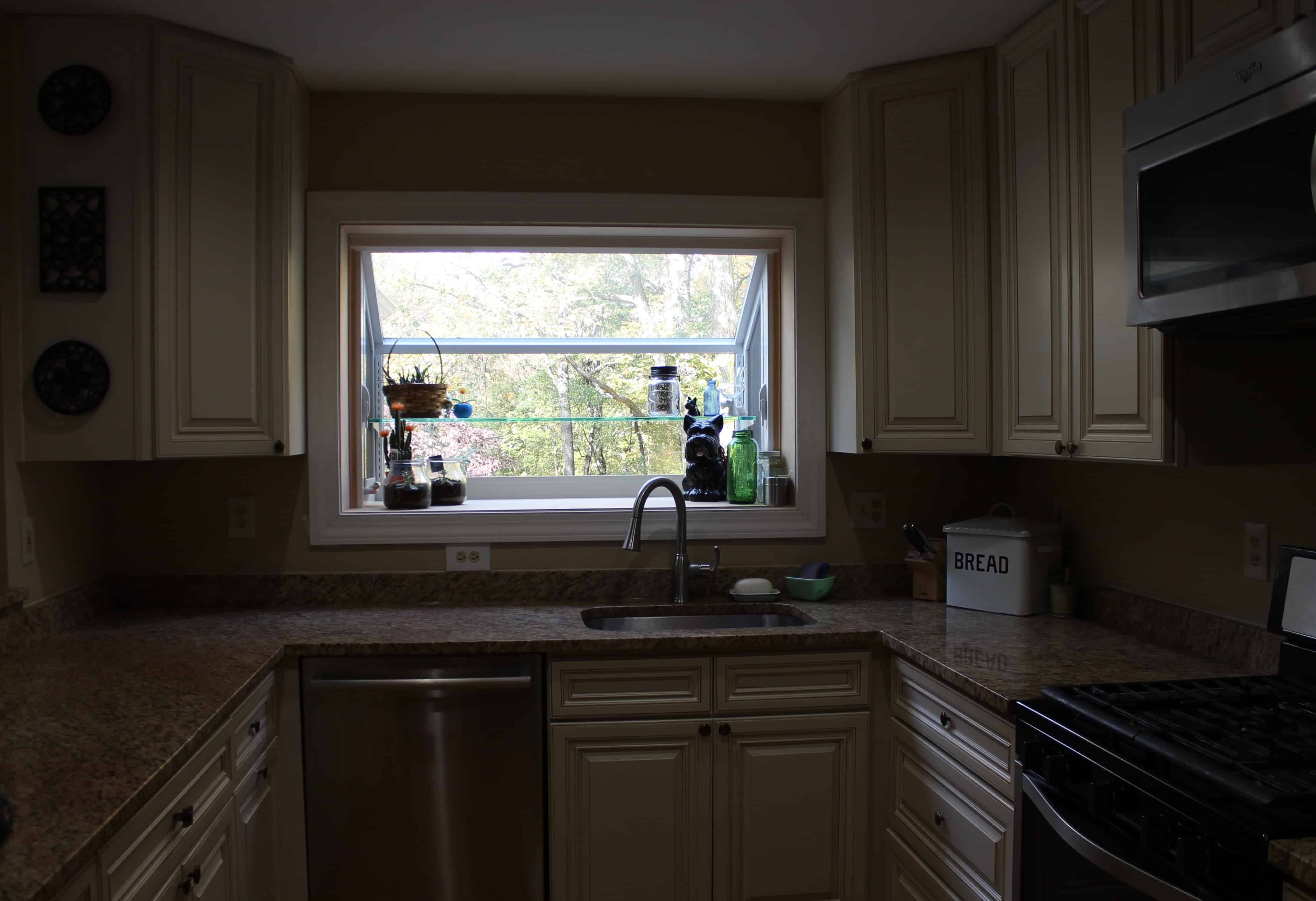 ... Low Cost Kitchen Before Sink ...