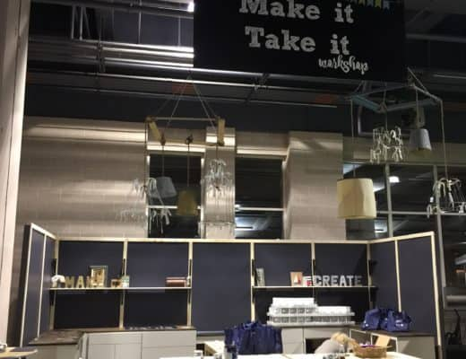 Philly Home SHow 2017 Make it take it workshop space