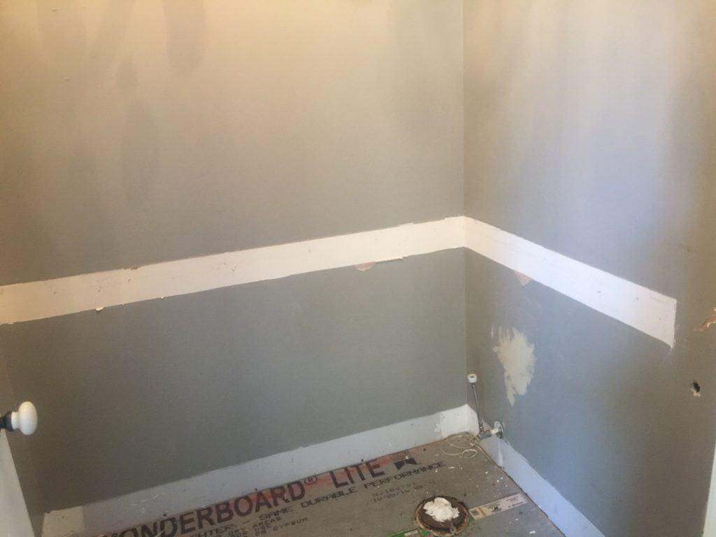 a blank canvas bathroom