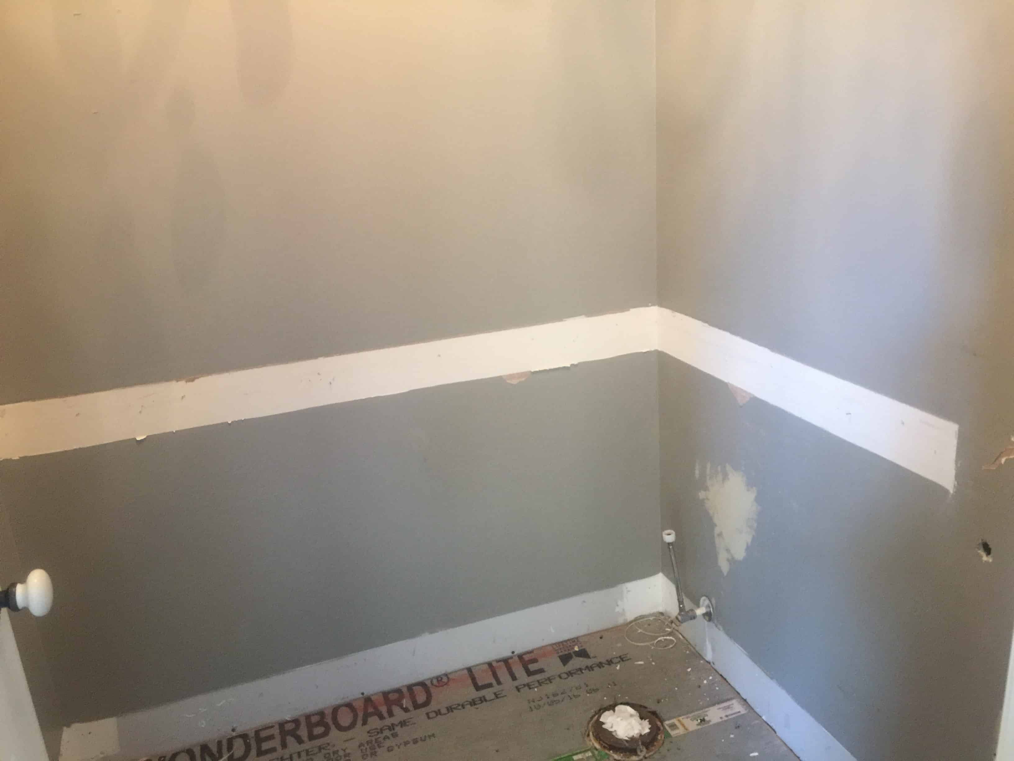 Faux Shiplap Bathroom Saved By Scottie
