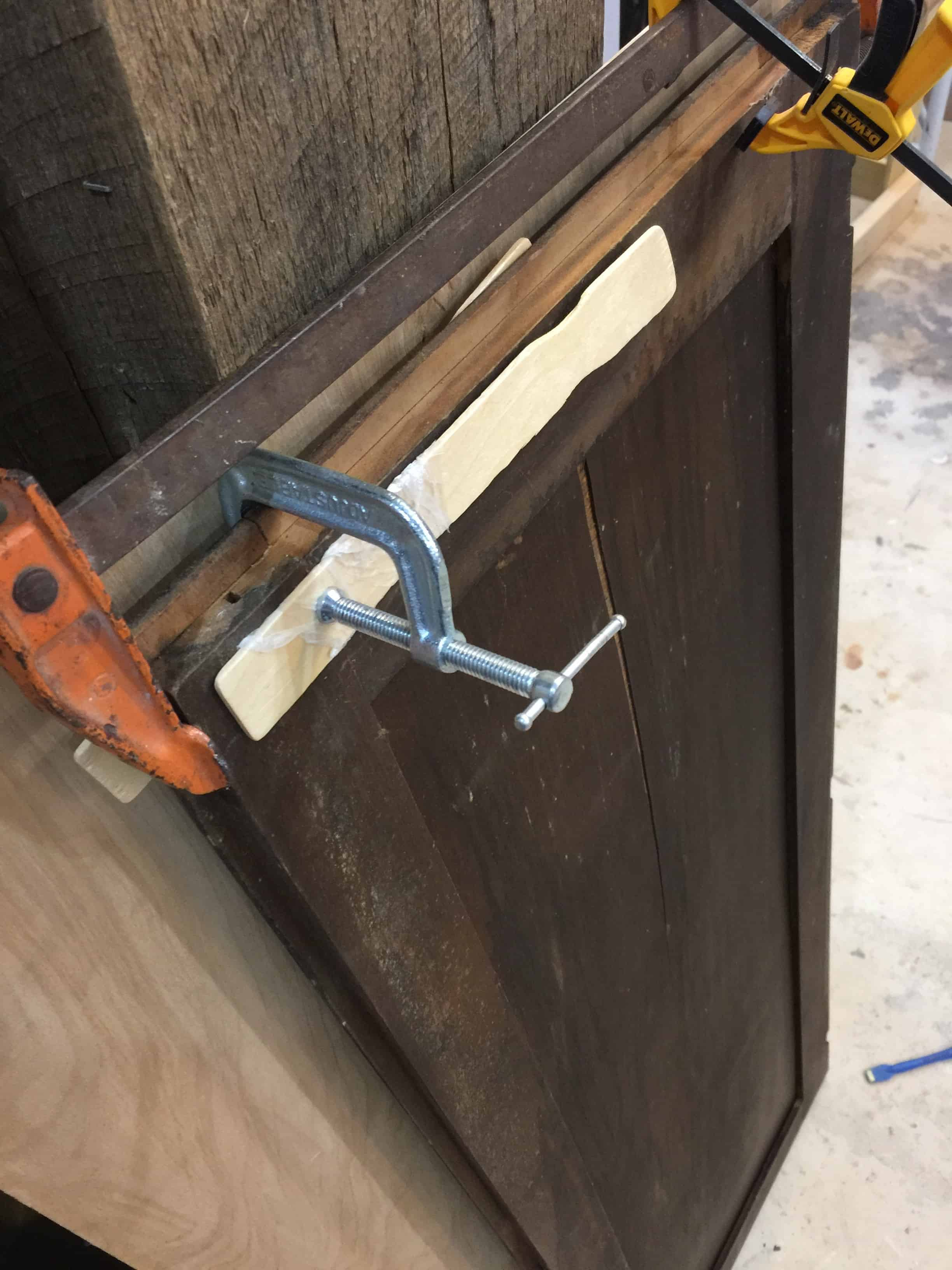 Saved by Scottie Overlays FFFC door repaircross clamping