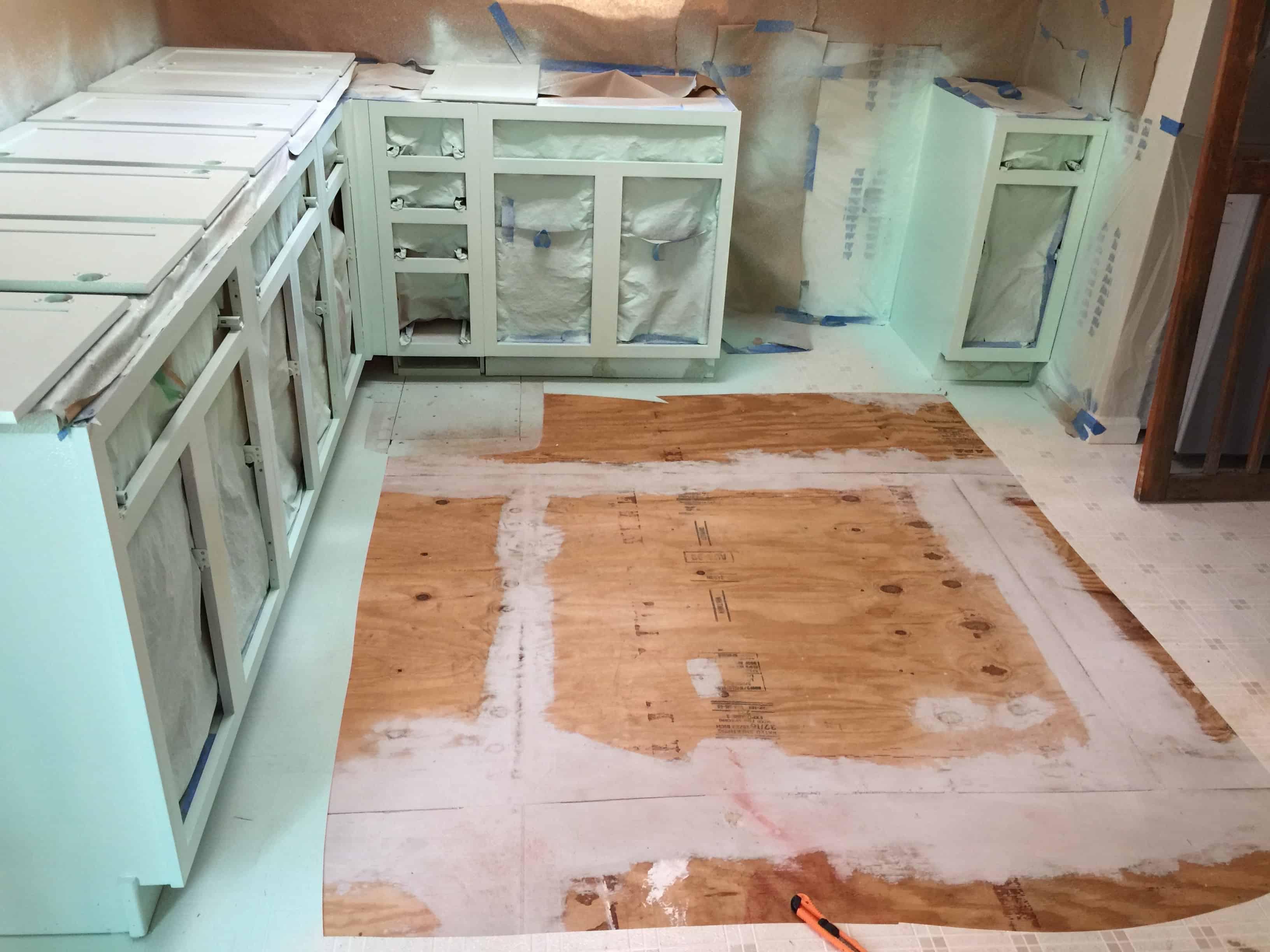 Saved by Scottie apartment kitchen paint progress