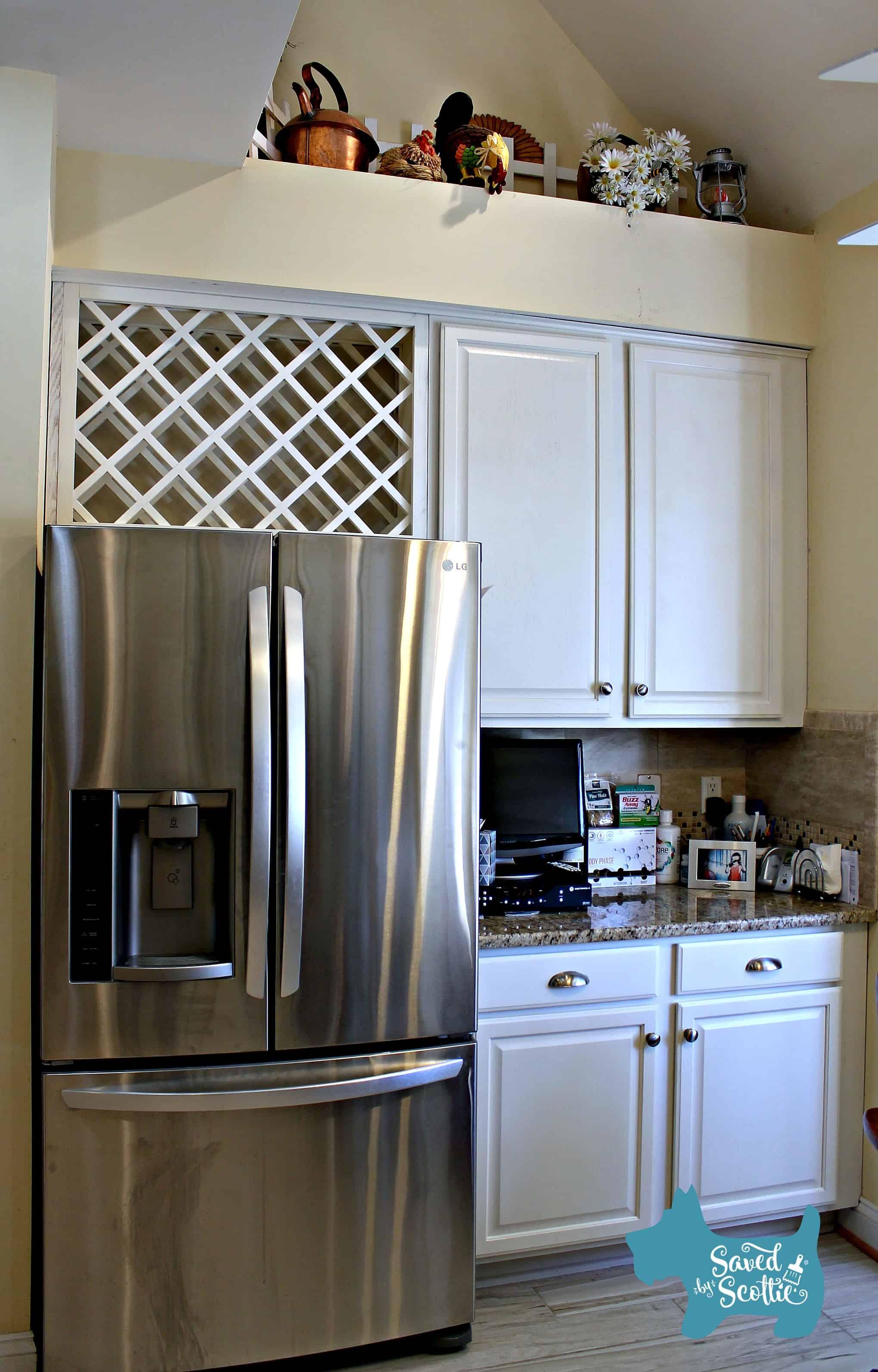 Saved by Scottie Alamo kitchen fridge after
