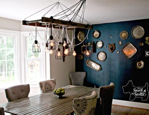 Saved by Scottie rustic chandelier
