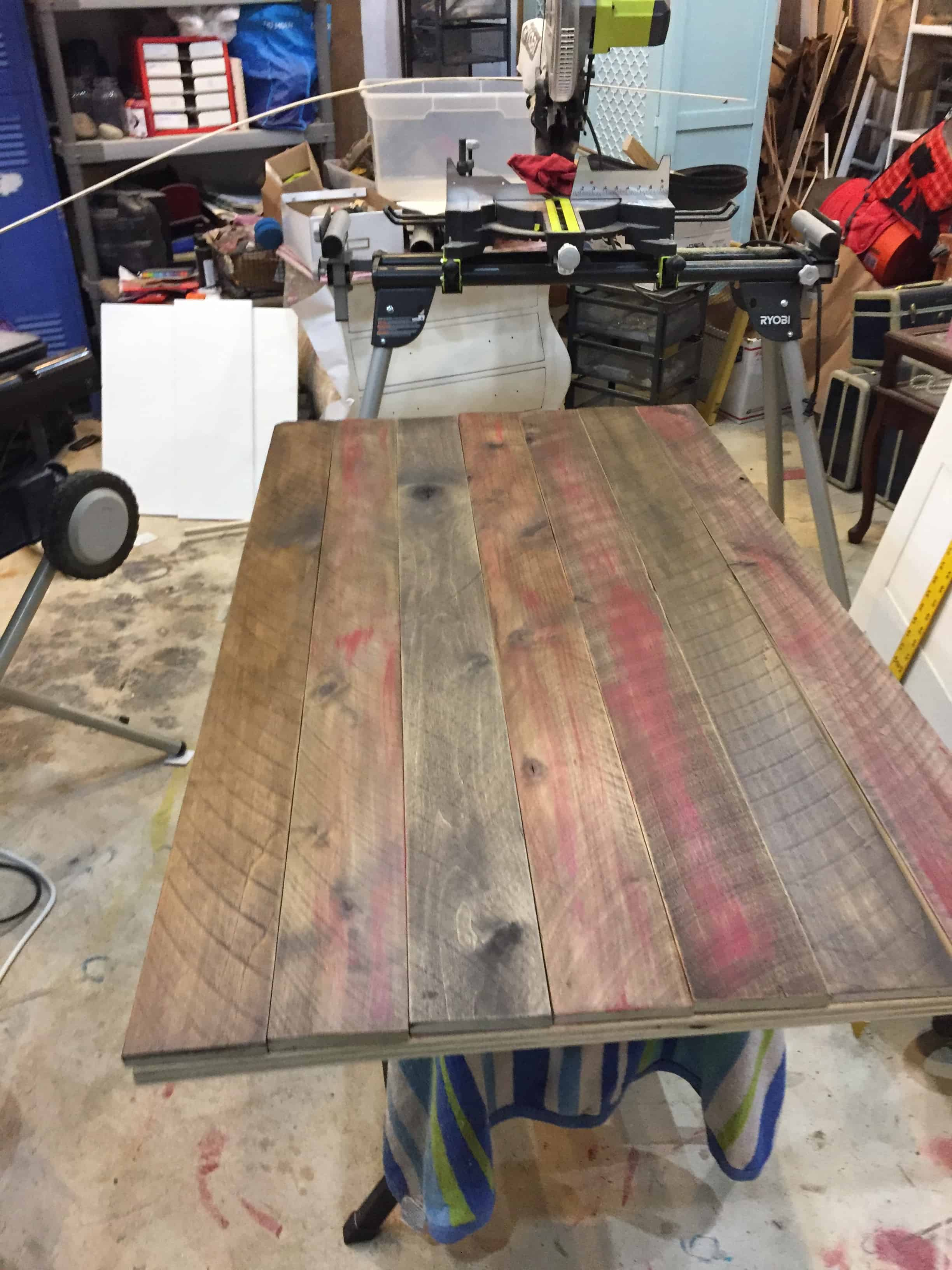 Saved by Scottie rv remodel her desk top build after paint
