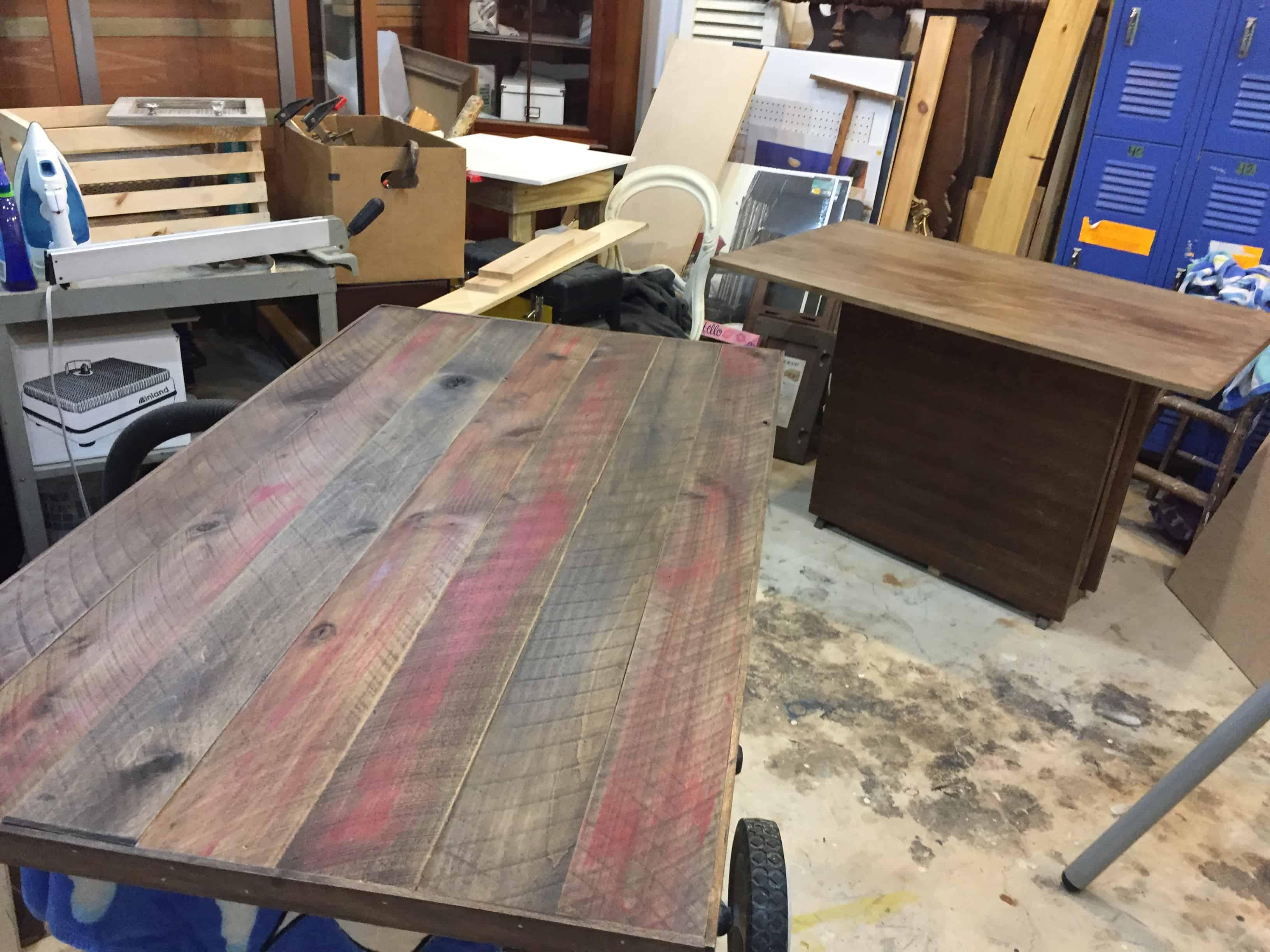 Saved by Scottie rv remodel her desk top