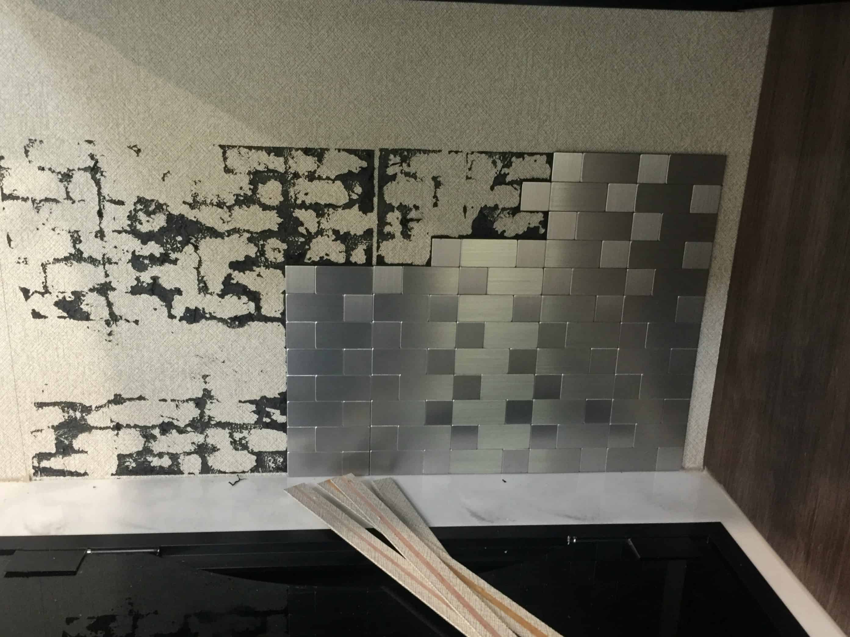 Saved by Scottie rv redo old kitchen backsplash