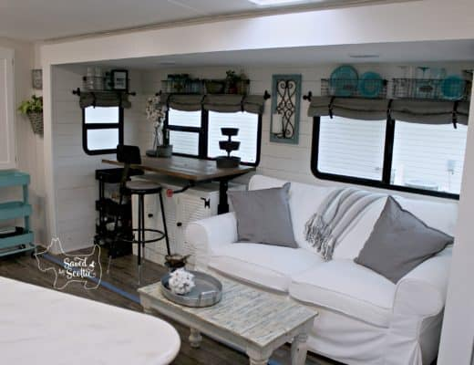 Saved by Scottie rv remodel after living room full view
