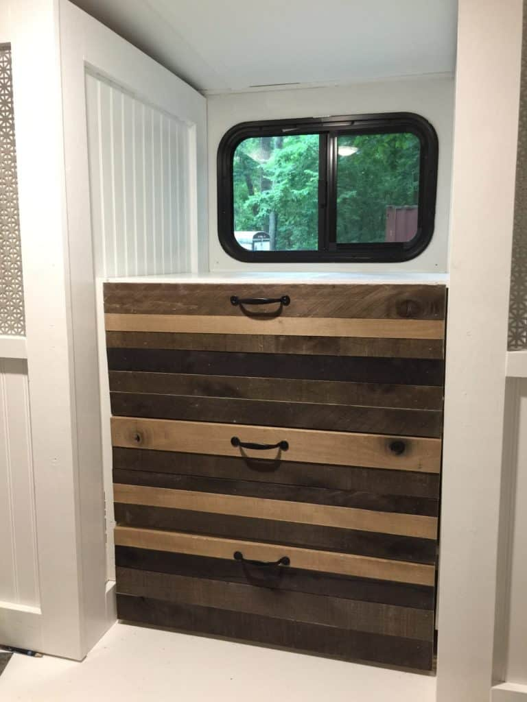 Rv Remodel From Bunk Room To Office Saved By Scottie