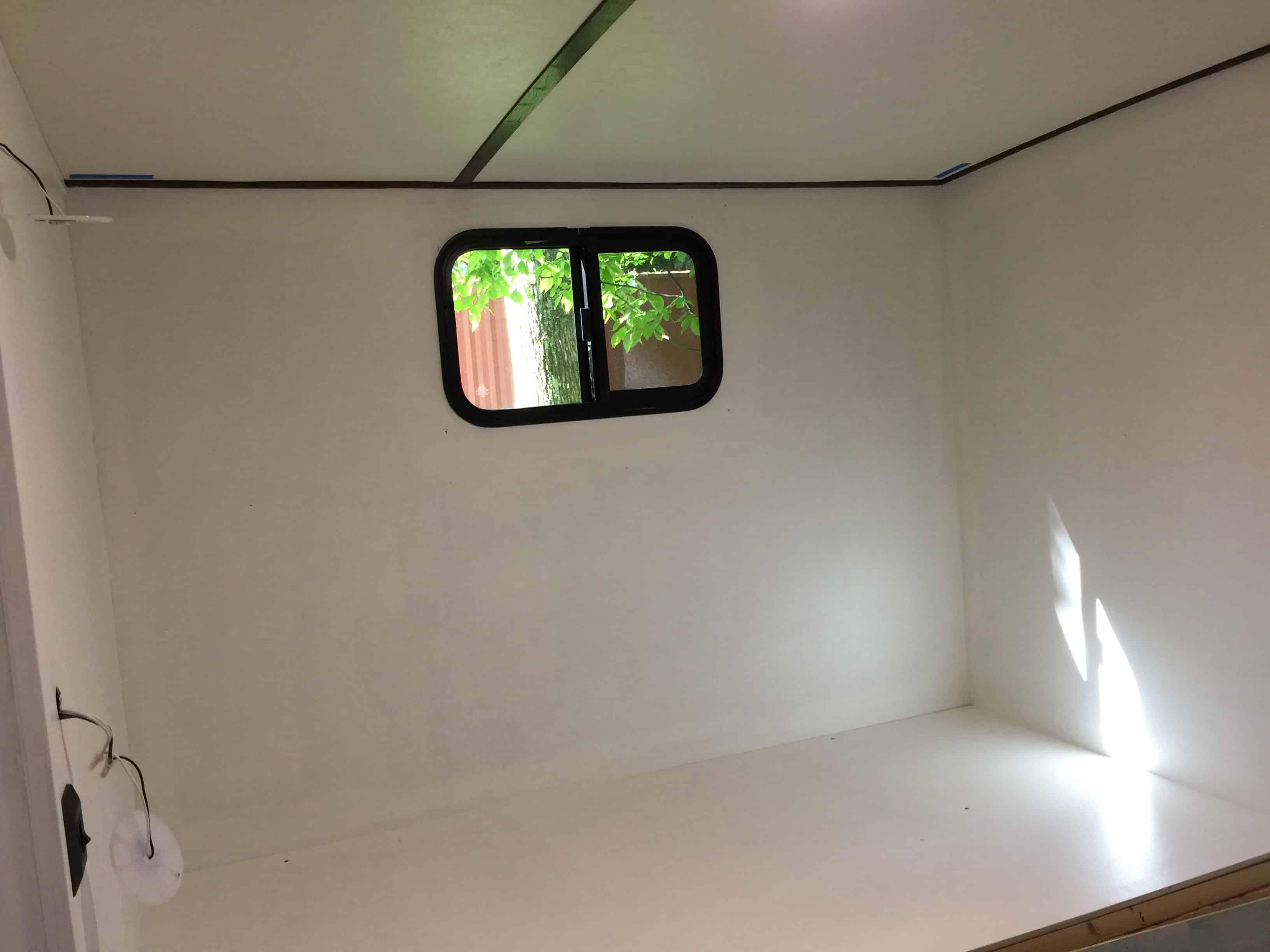 rv remodel cabinet build clean slate