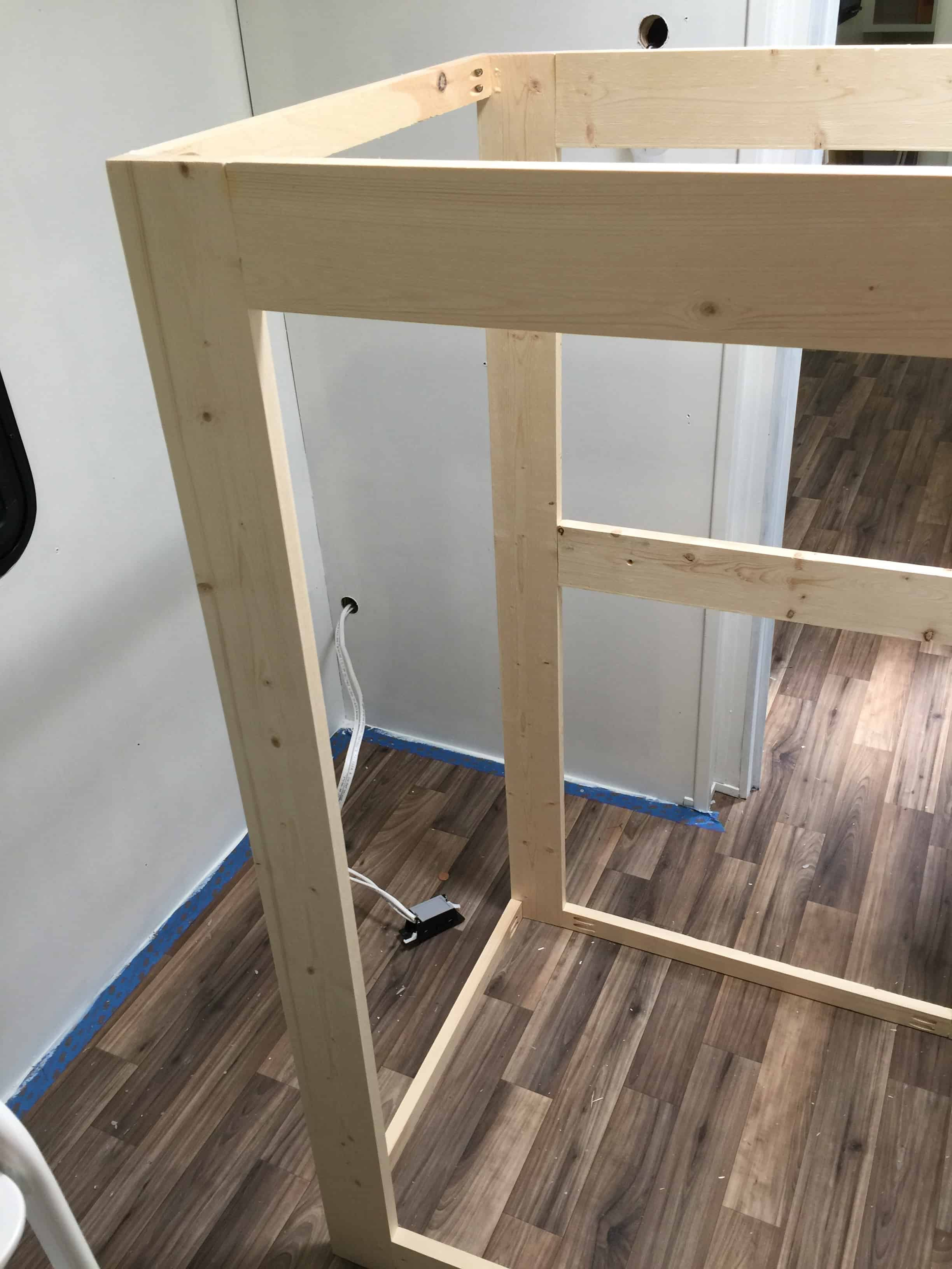 Saved by Scottie rv remodel cabinet build dresser cabinets assembly