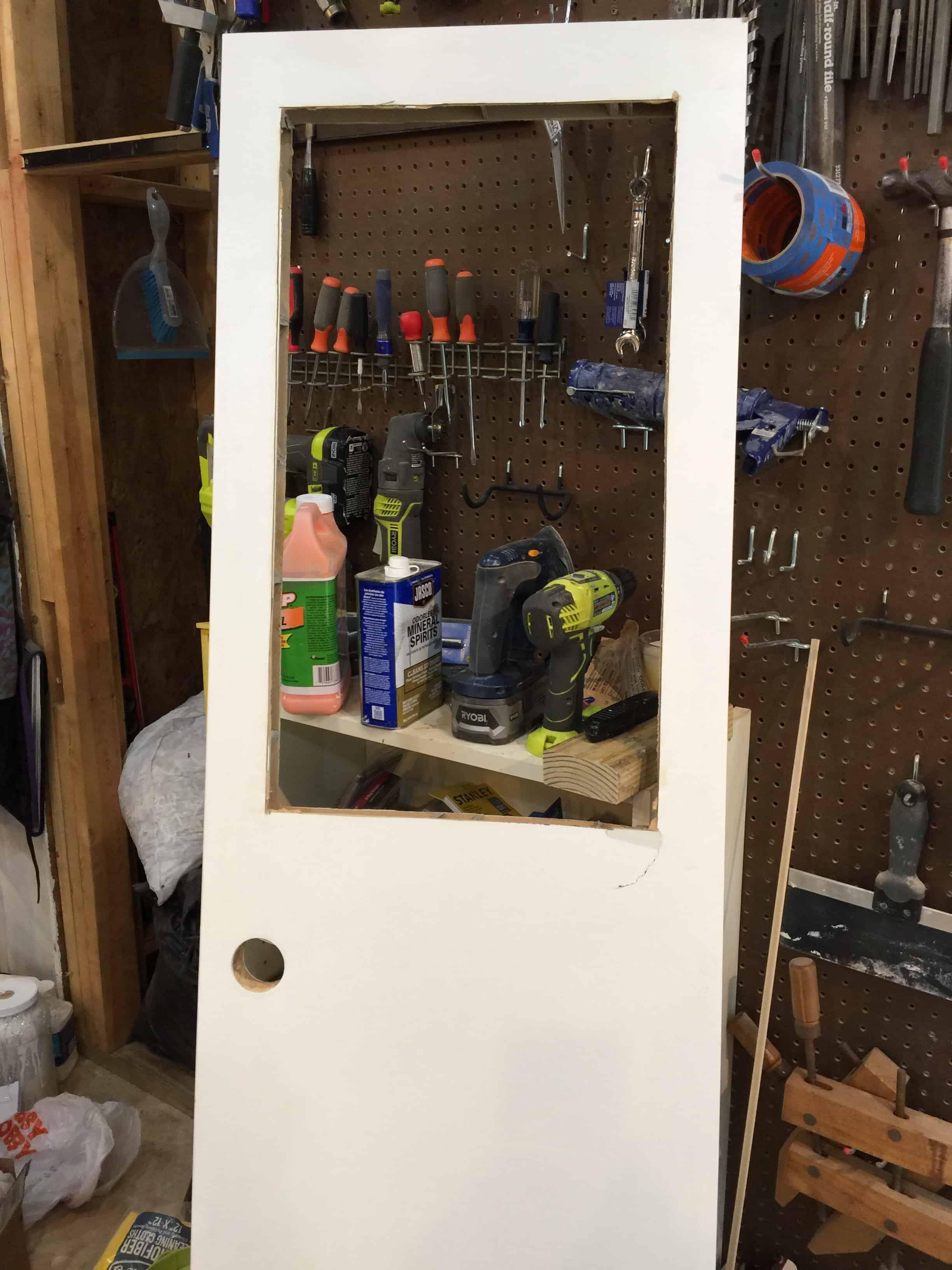 Saved by Scottie rv remodel door build window opening done