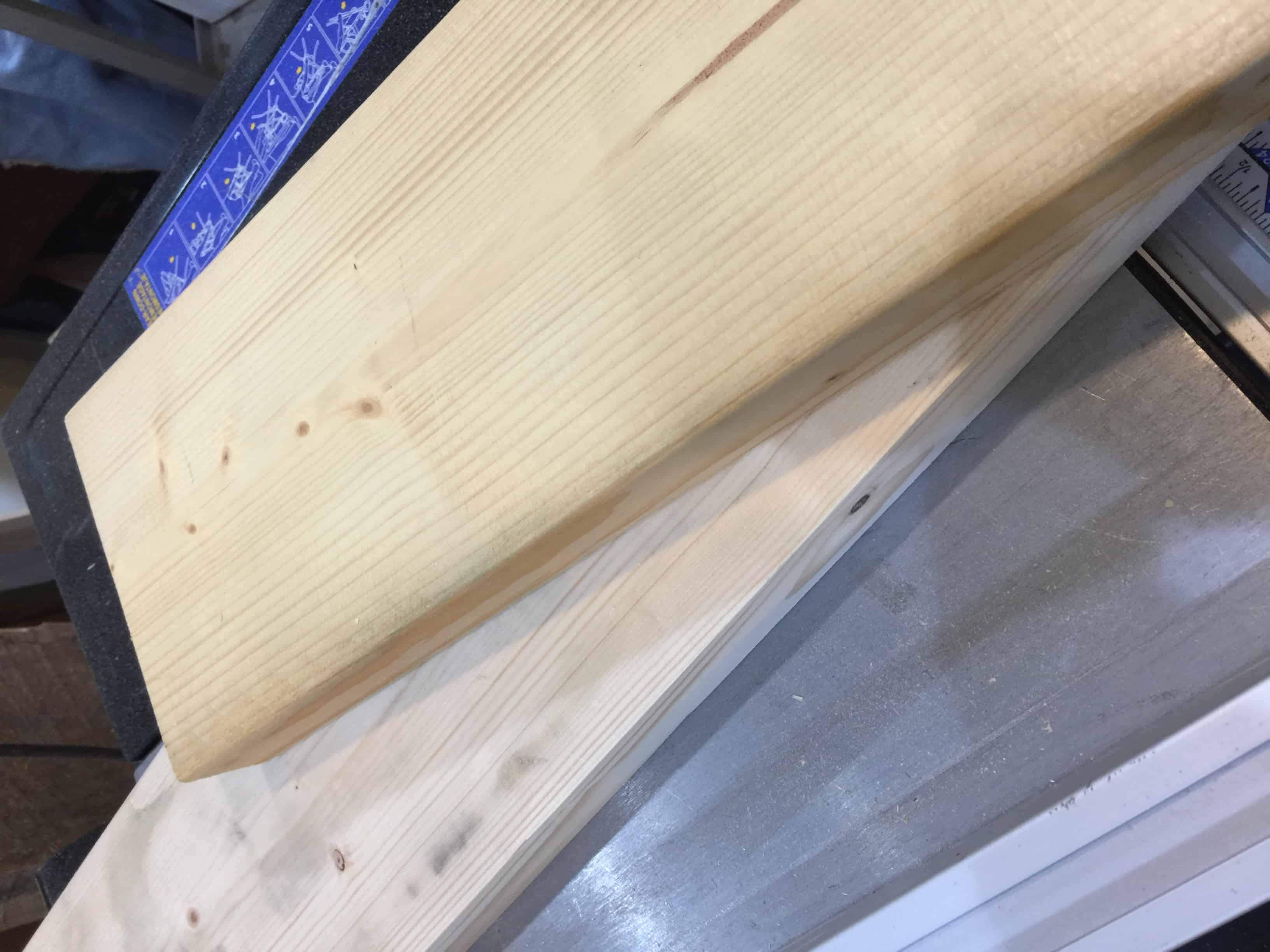 Saved by Scottie corbels and countertops board trimming
