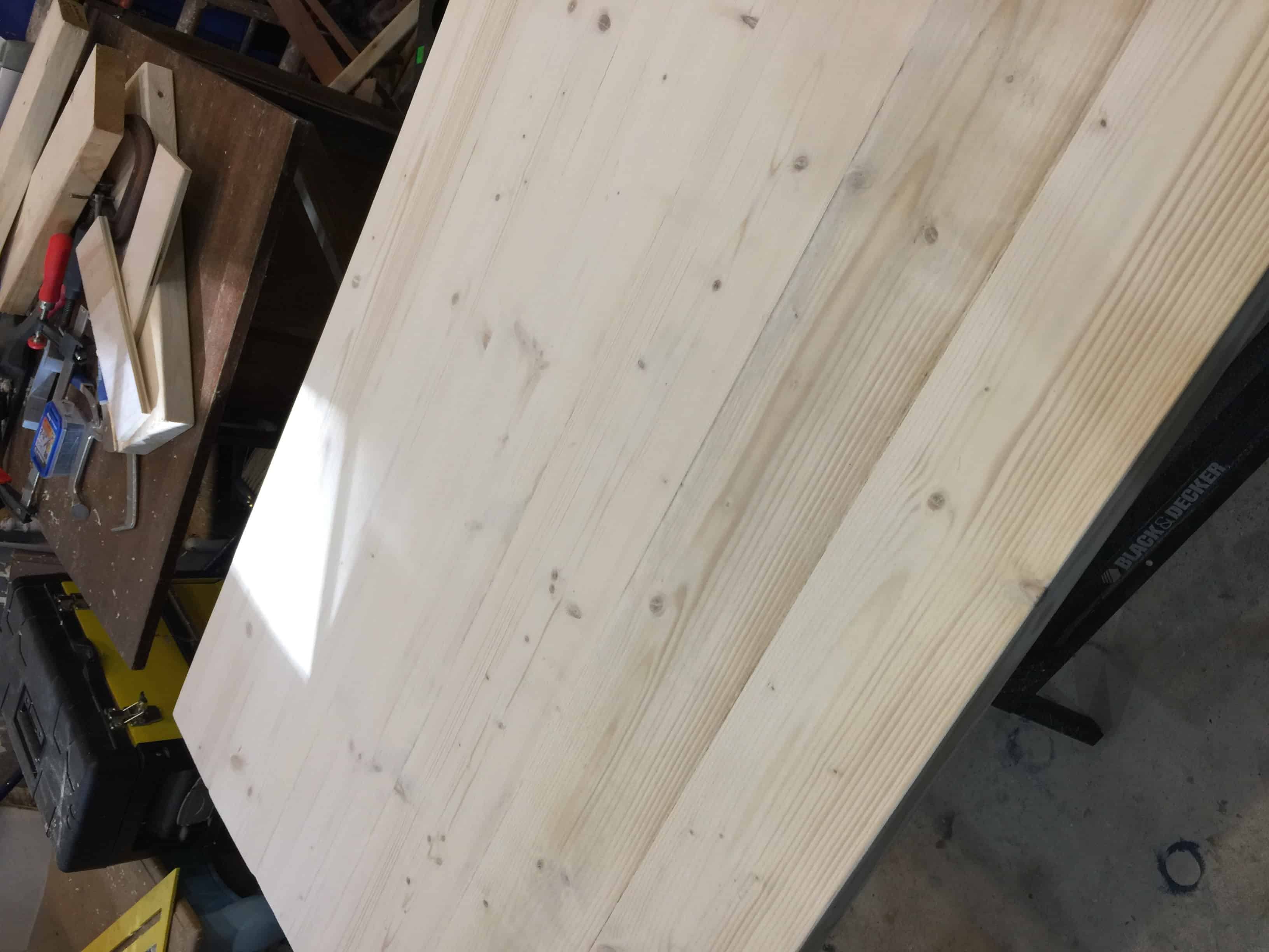 Saved by Scottie corbels and countertops Top after screwing together