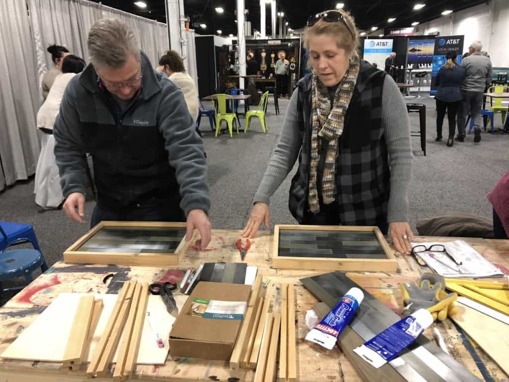 Saved by Scottie Philly Home Show magnet board class layout frames