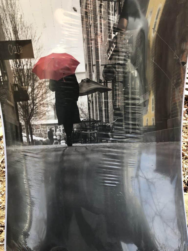 Saved by Scottie DLawless umbrella dresser poster stash