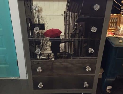 Saved by Scottie dLawless umbrella dresser