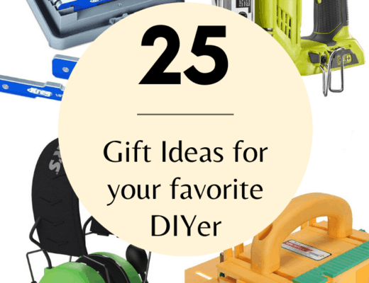 round up image of 25 gift ideas for diy