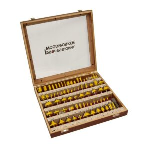 router bits in storage case