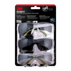 3M protective eyewear in 3 styles to cover all kinds of lighting
